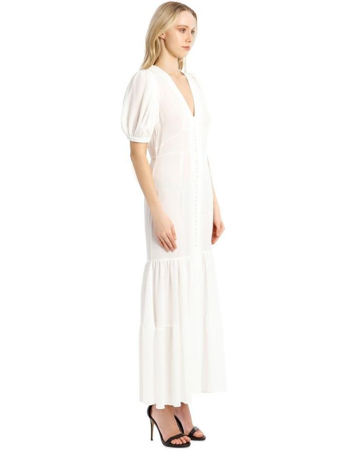Short-Sleeve Button Through Maxi Dress image 2