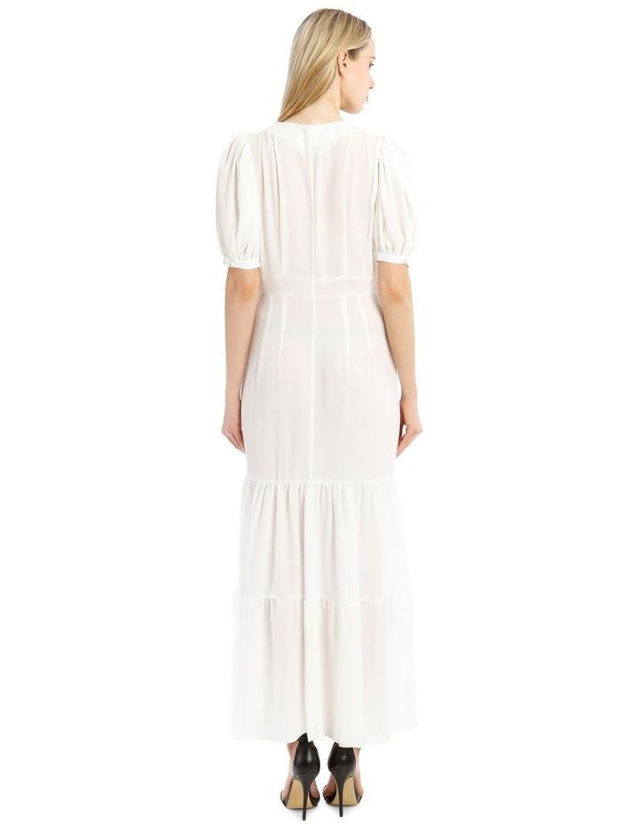 Short-Sleeve Button Through Maxi Dress image 3