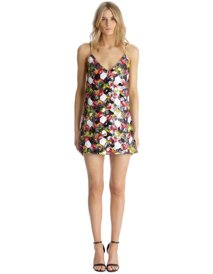 Multicolour Sequin Mini Dress image 1
