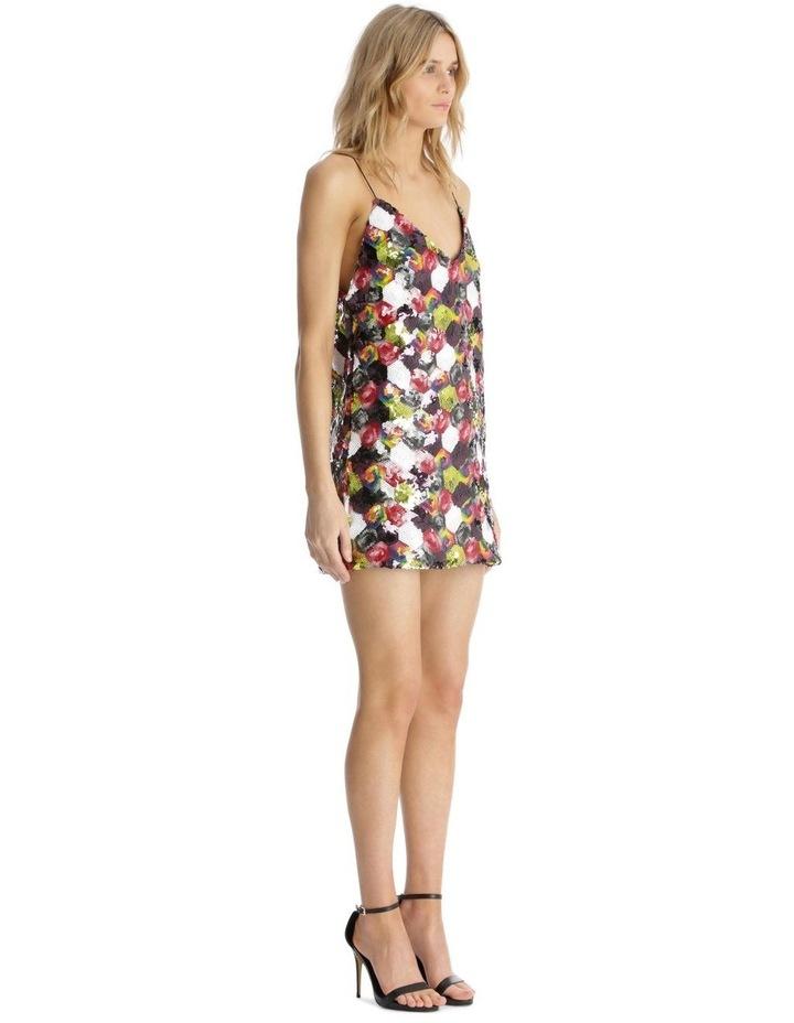 Multicolour Sequin Mini Dress image 2