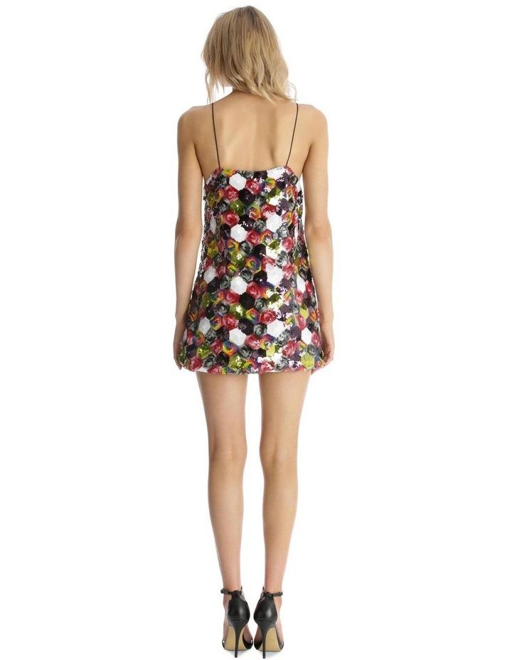 Multicolour Sequin Mini Dress image 3
