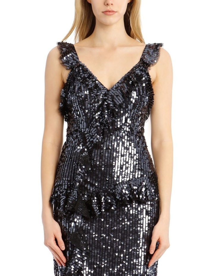 Scarlett Sequin Midi Dress image 4