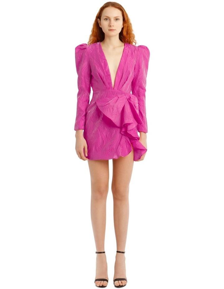 Kylie Dress Fuchsia image 1