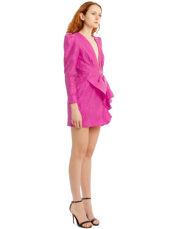 Kylie Dress Fuchsia image 2
