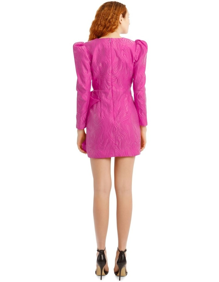 Kylie Dress Fuchsia image 3