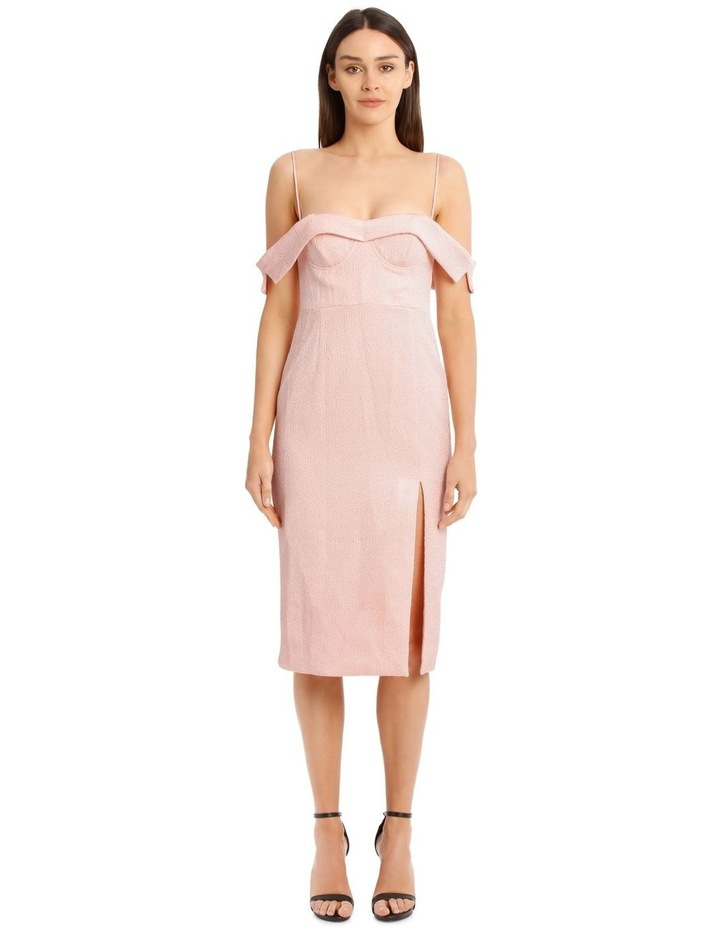 Alyssa Midi Dress - Pale Pink image 1