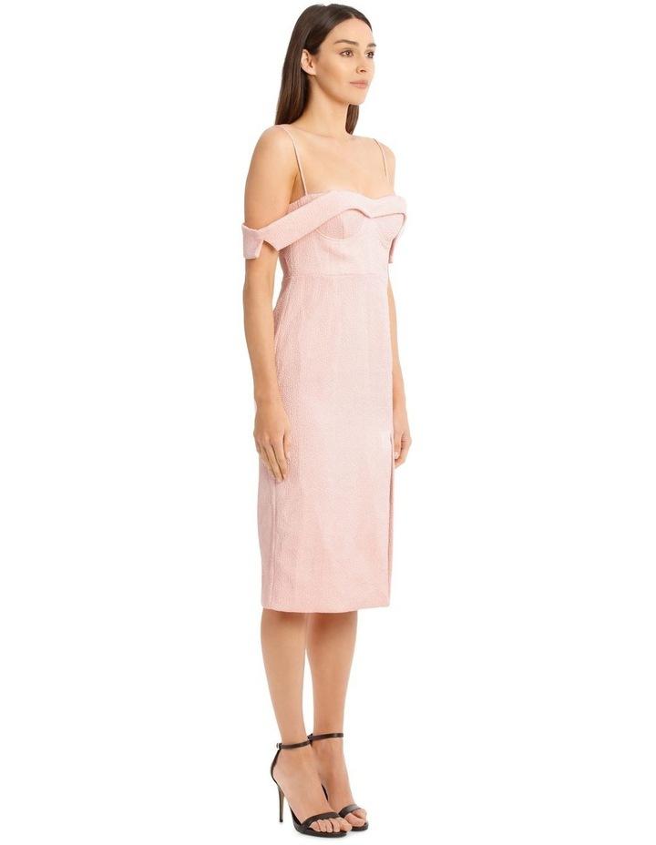 Alyssa Midi Dress - Pale Pink image 2