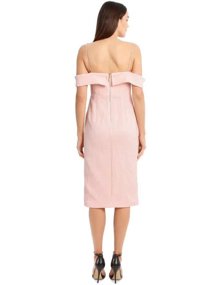 Alyssa Midi Dress - Pale Pink image 3
