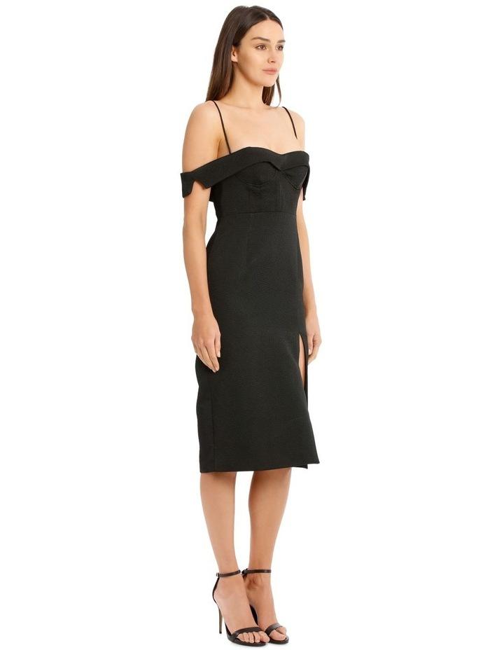 Alyssa Midi Dress - Black image 2