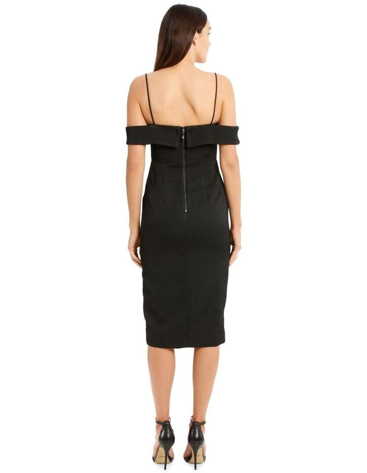 Alyssa Midi Dress - Black image 3