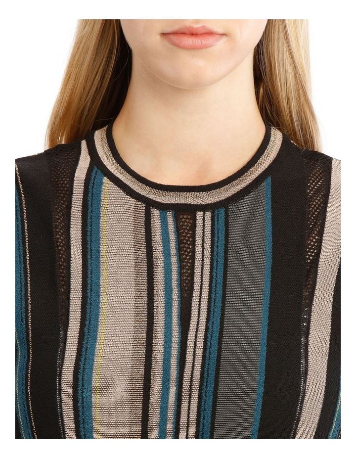 Striped Metallic Dress image 2