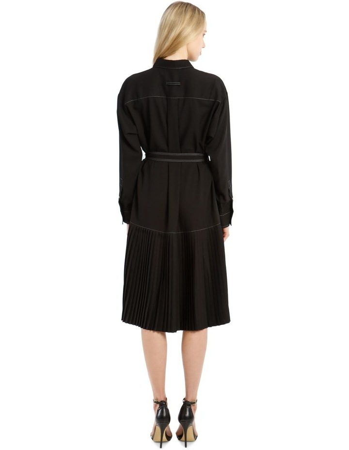 Long-Sleeve Drop Waist Dress image 3