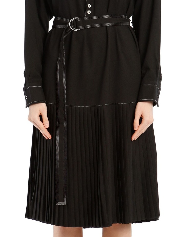 Long-Sleeve Drop Waist Dress image 4