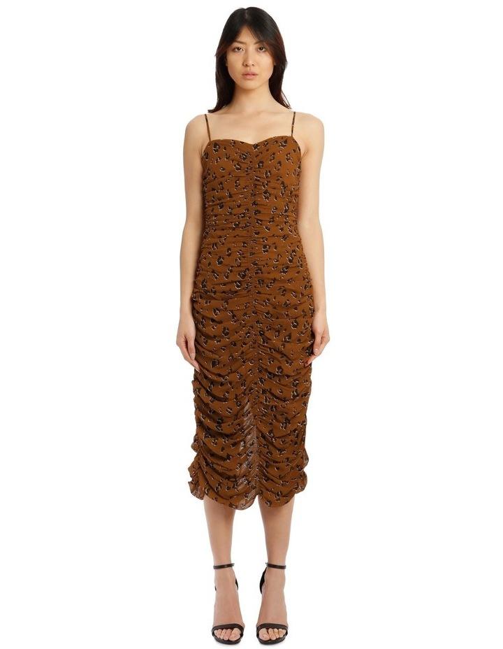 Gathered Slip Dress image 1