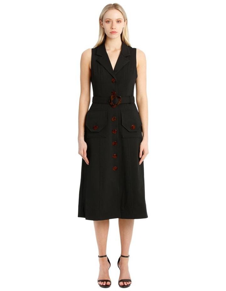 Button Up Midi Dress image 1