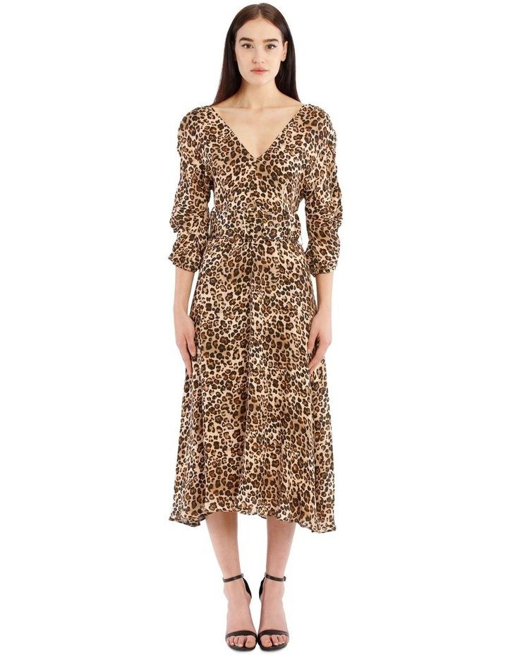 Gathered Sleeve Dress image 1