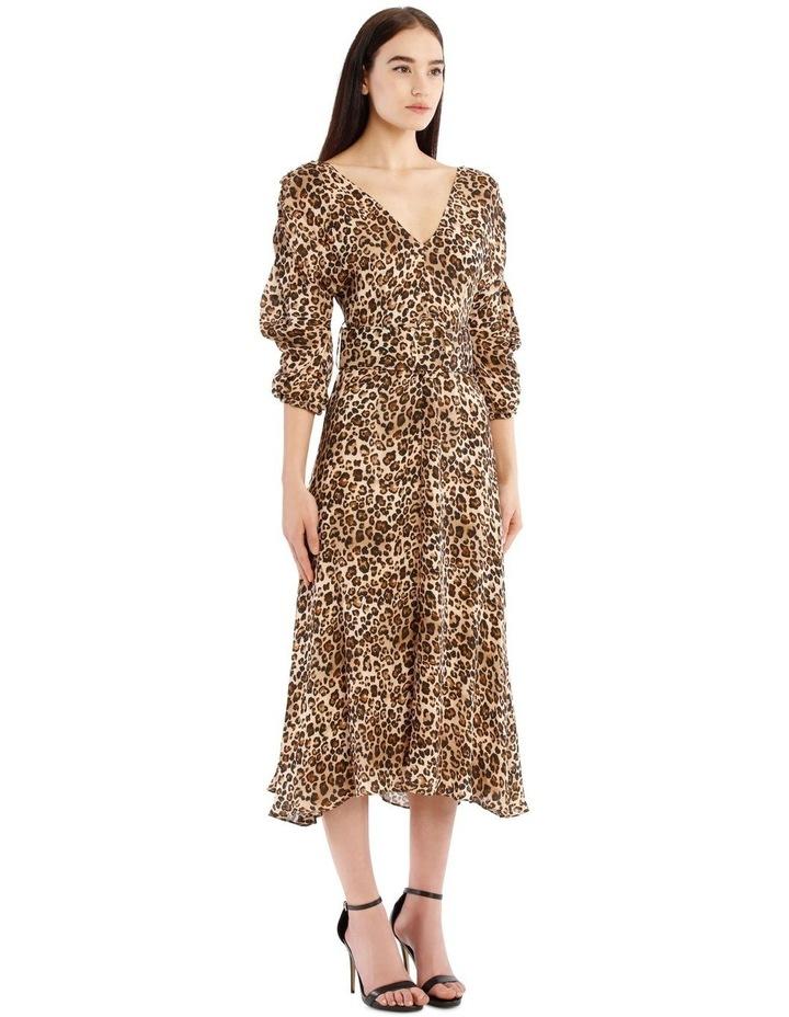 Gathered Sleeve Dress image 2
