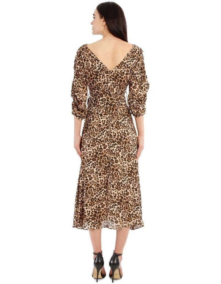 Gathered Sleeve Dress image 3