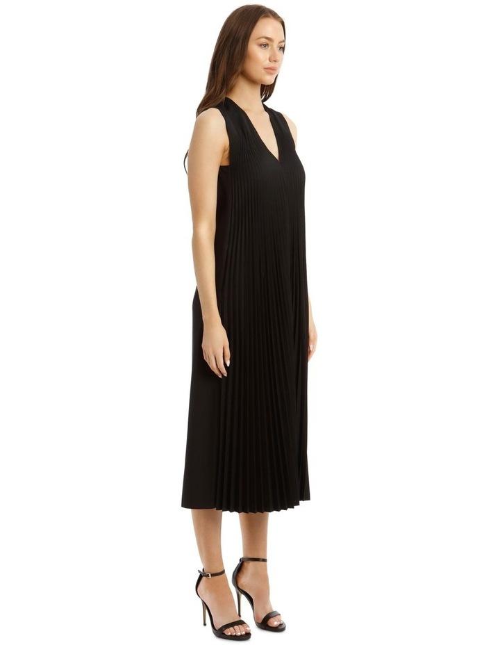Enid Pleated Wool Dress image 2