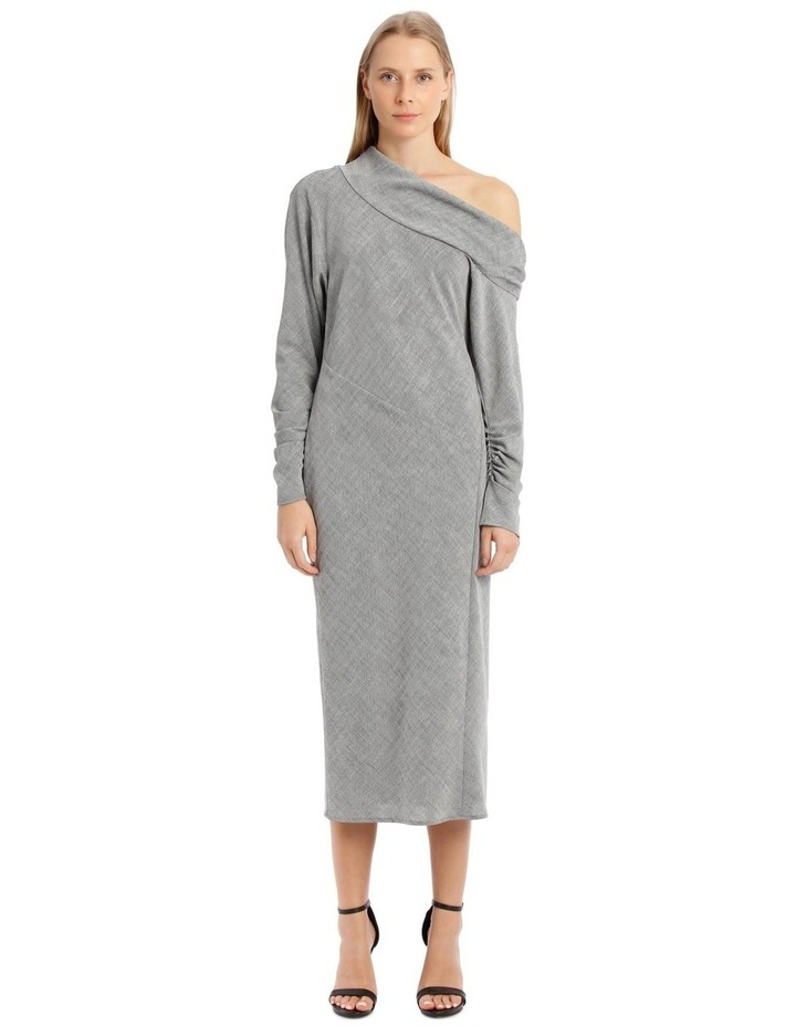 Cortez Midi Dress - Grey image 1