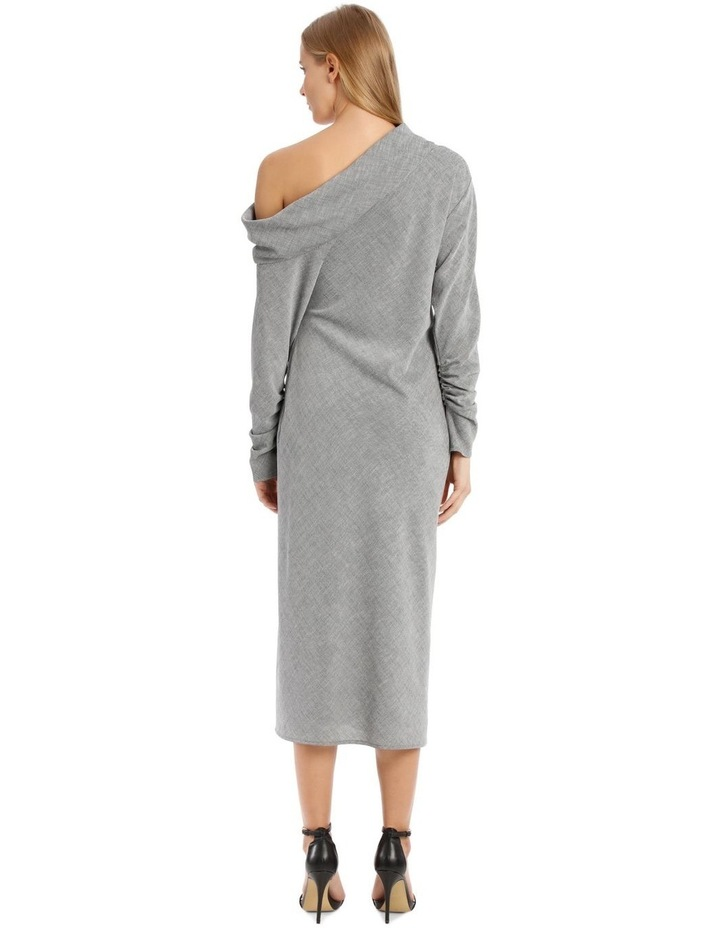 Cortez Midi Dress - Grey image 3