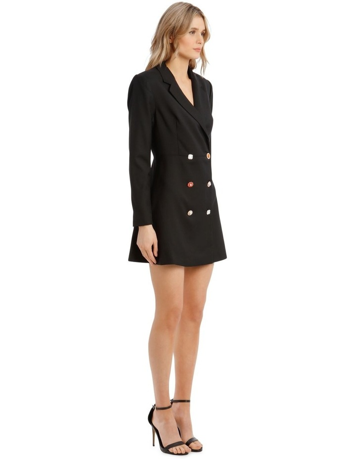 Button Detail Blazer Mini Dress image 2
