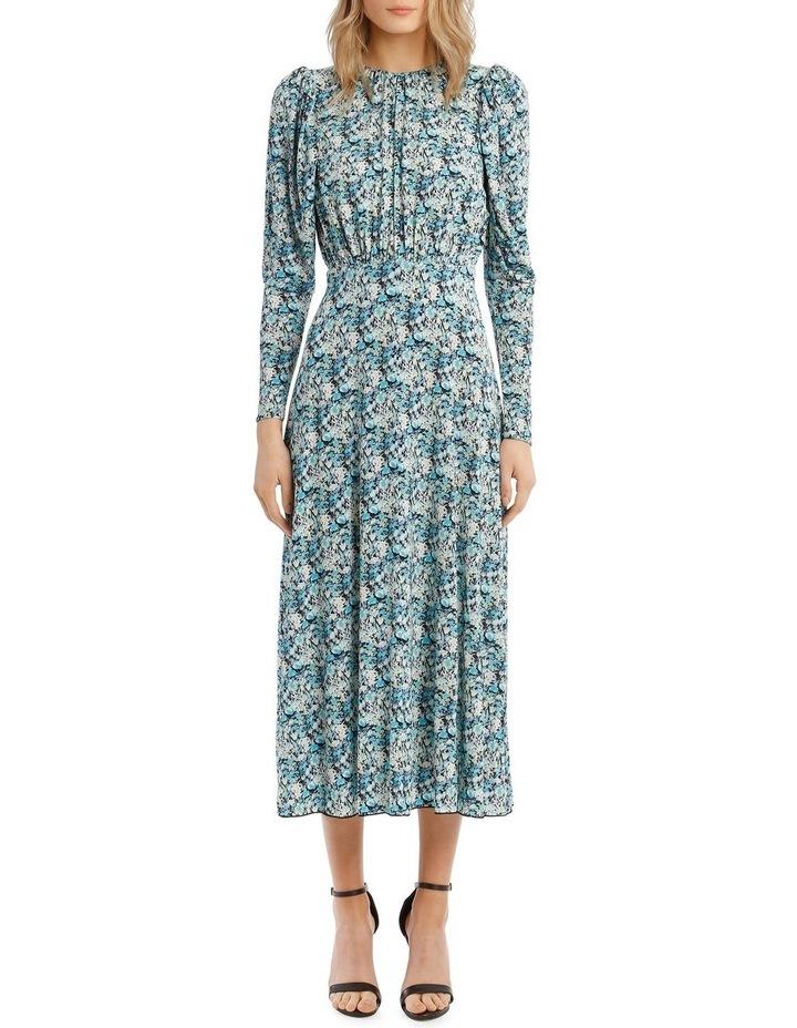 Print Detail Midi Dress image 5