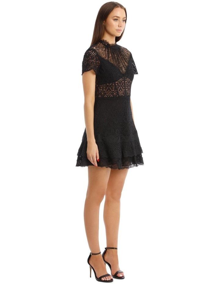 Lace Ruffle Mini Dress image 2