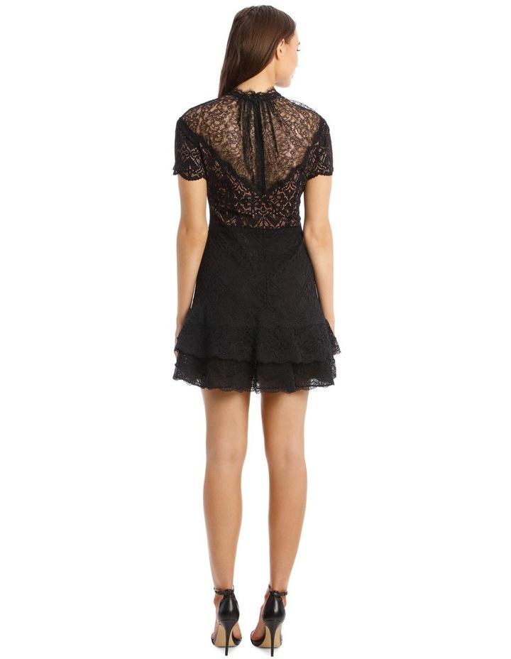 Lace Ruffle Mini Dress image 3