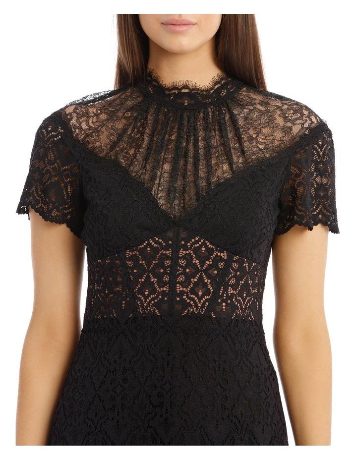 Lace Ruffle Mini Dress image 4