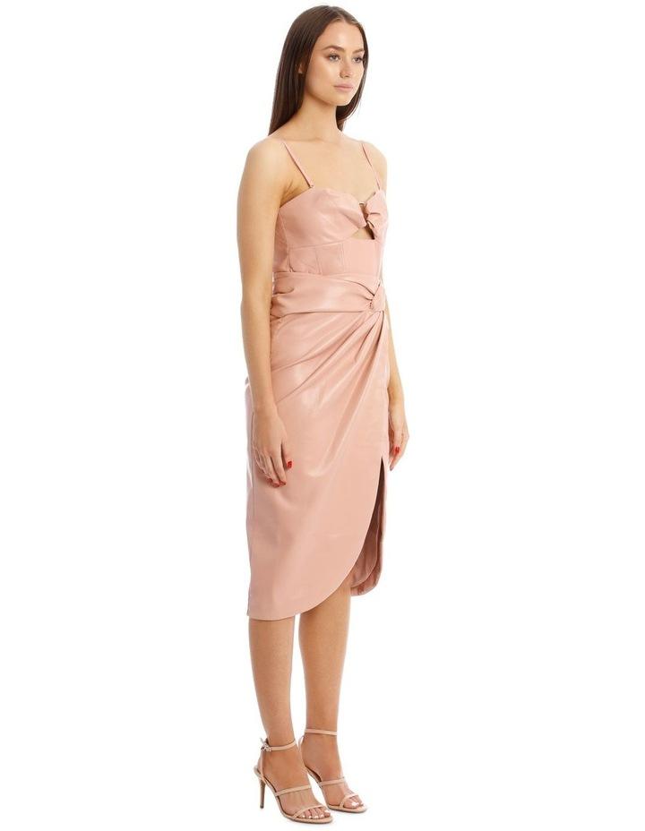 Vegan Leather Bustier Dress image 2