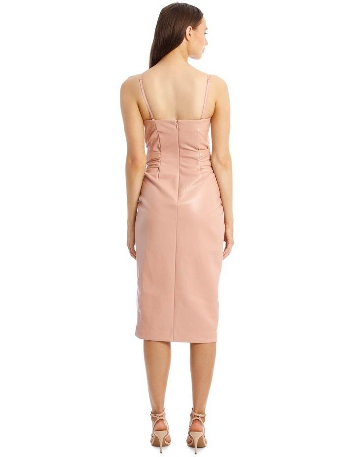 Vegan Leather Bustier Dress image 3