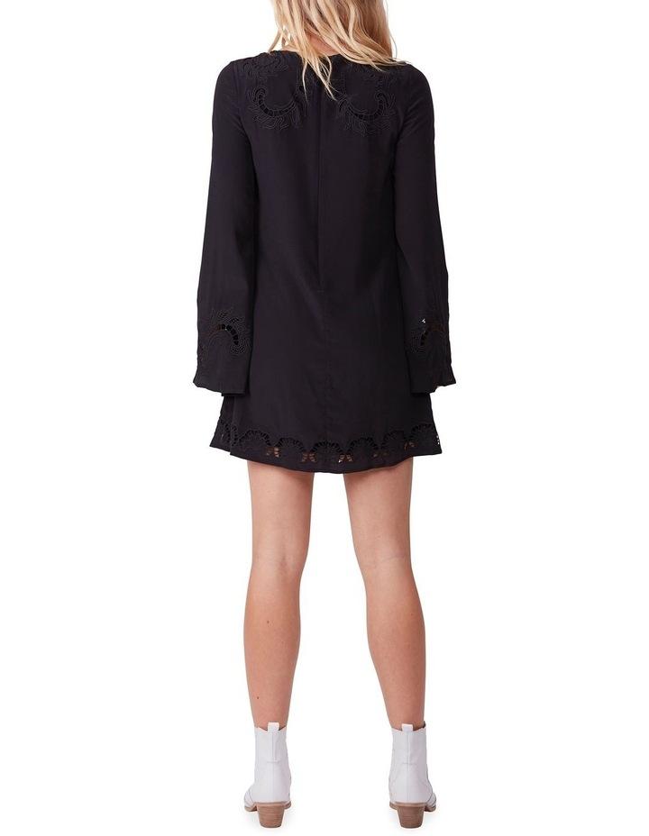 Embroidered Silk Mini Dress image 6
