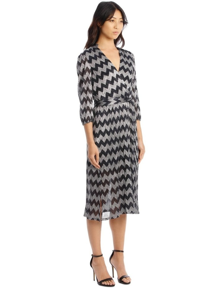 Katina Gathered-Belted Midi Dress image 2
