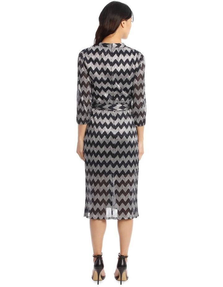 Katina Gathered-Belted Midi Dress image 3