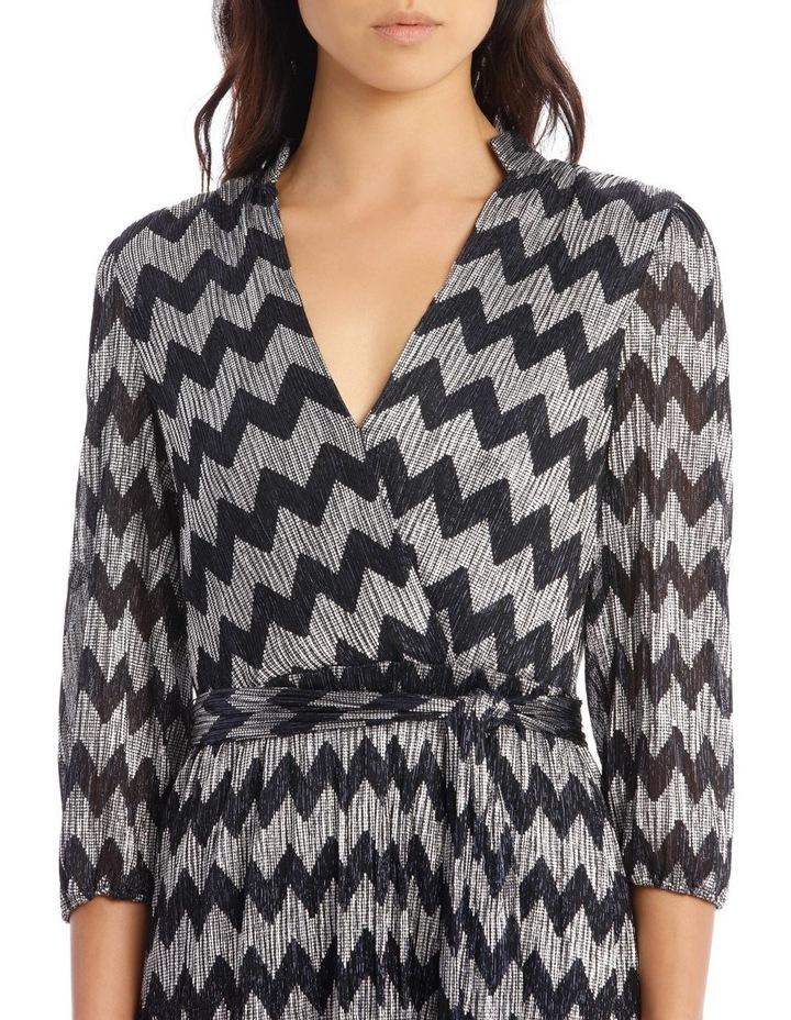 Katina Gathered-Belted Midi Dress image 4