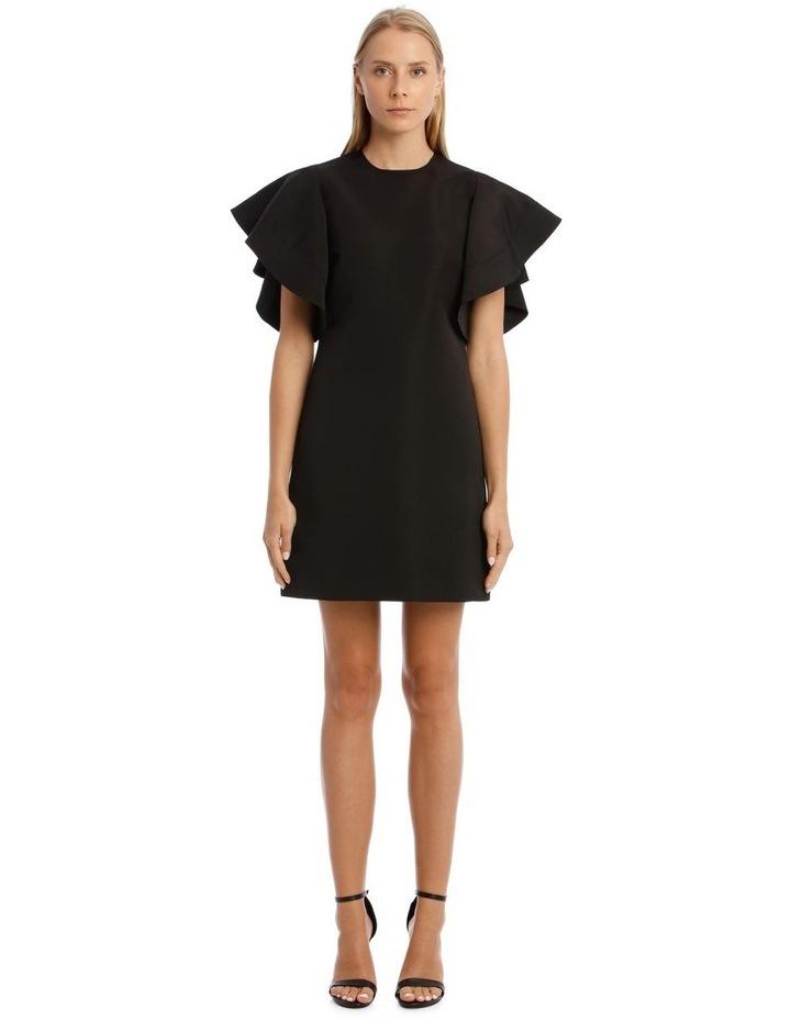 Peplum Sleeve Dress image 1