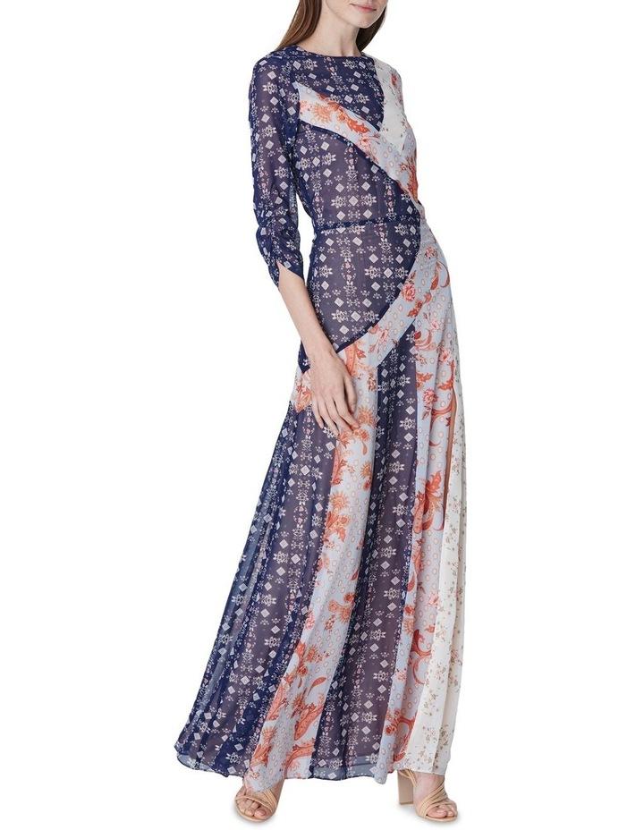 Evelyn Spliced Maxi Dress image 1