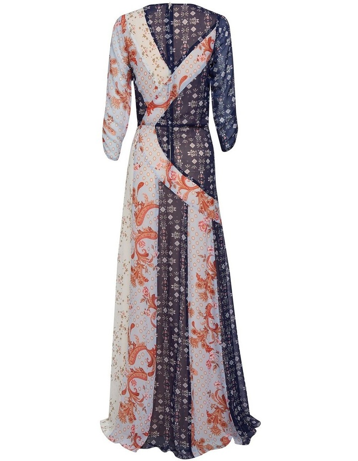 Evelyn Spliced Maxi Dress image 3