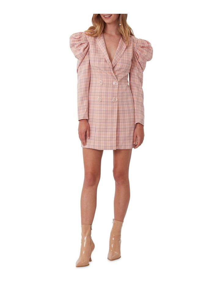 Check Mate Blazer Dress image 1