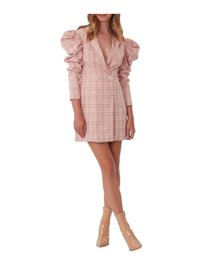 Check Mate Blazer Dress image 2