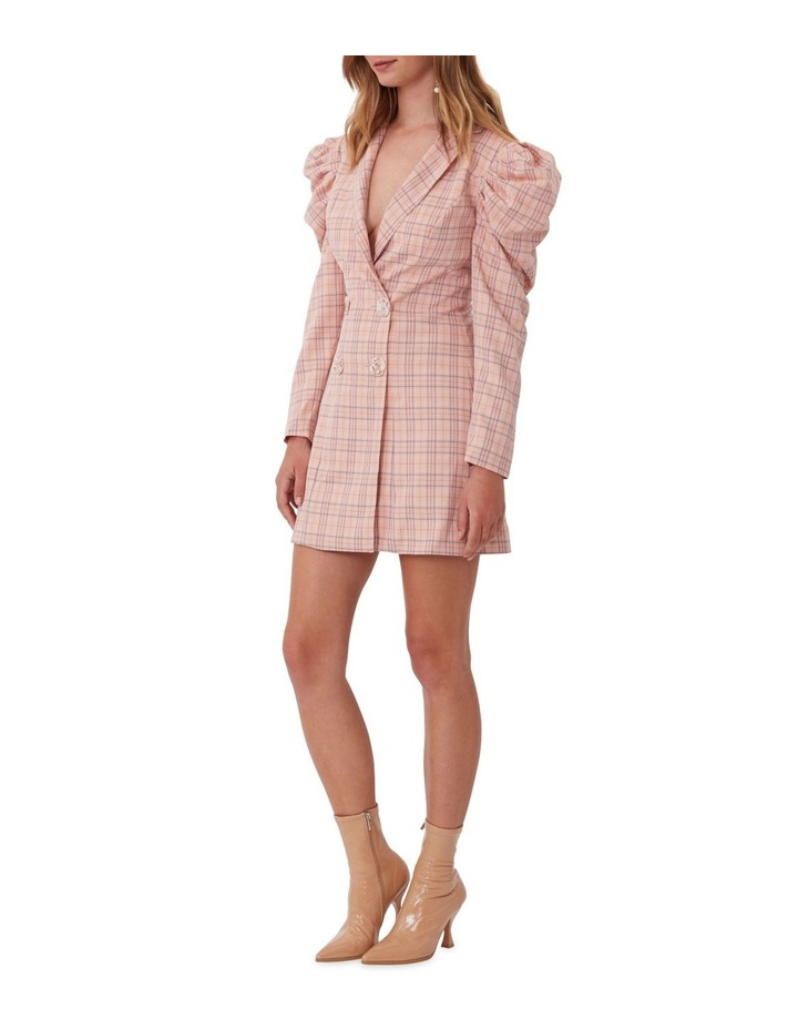 Check Mate Blazer Dress image 3