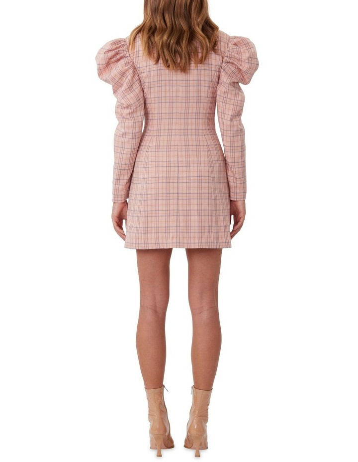 Check Mate Blazer Dress image 4