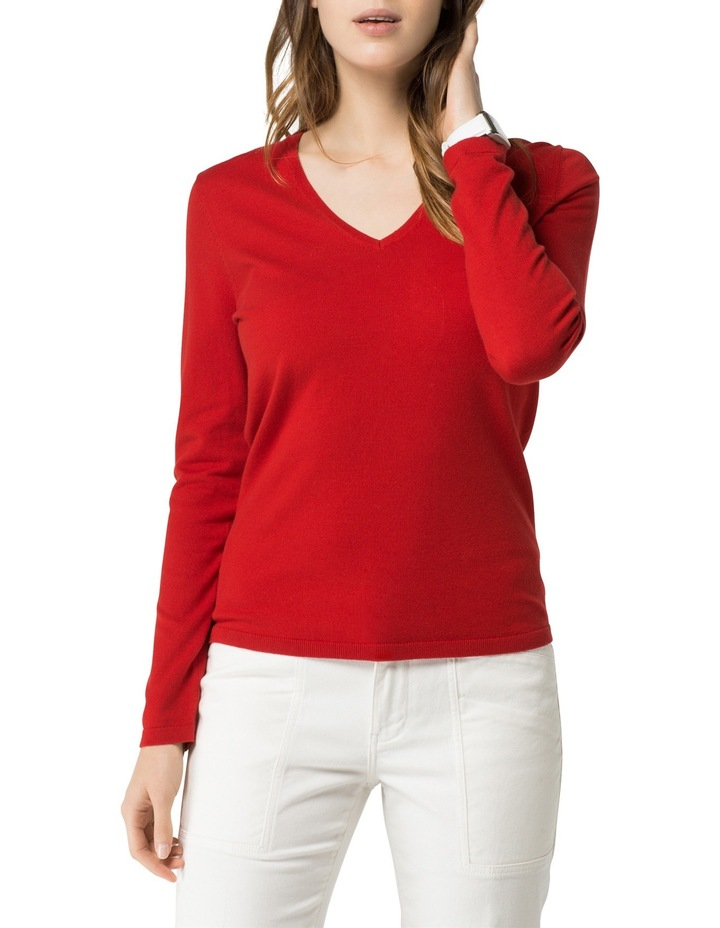 Ivy V-Neck Sweater image 1