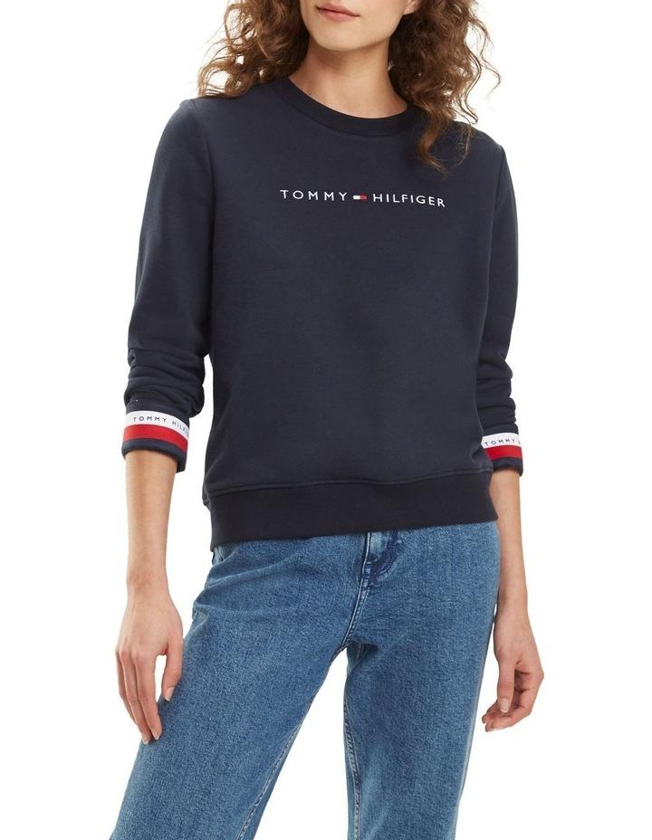 Signature Tape Cuff Sweatshirt image 1
