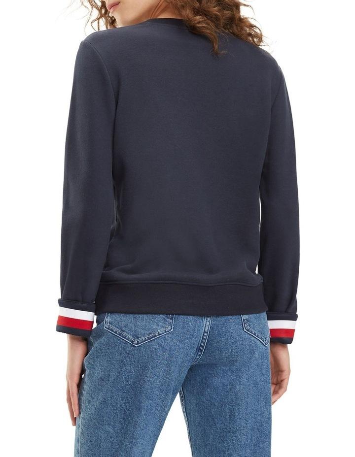 Signature Tape Cuff Sweatshirt image 2