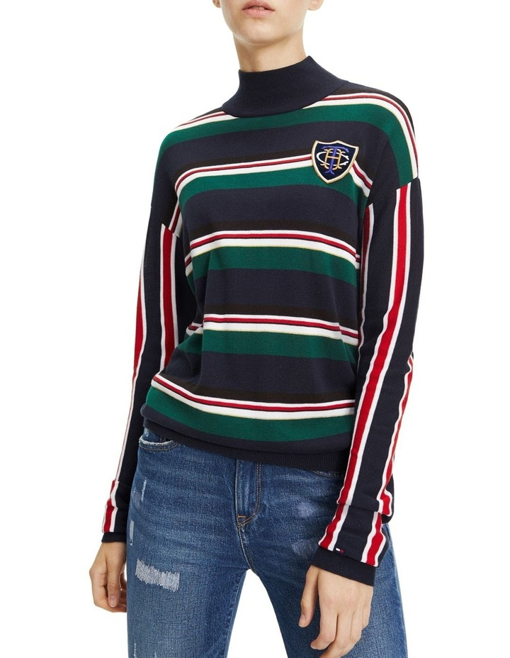 Hollie Mock Neck Sweater image 1
