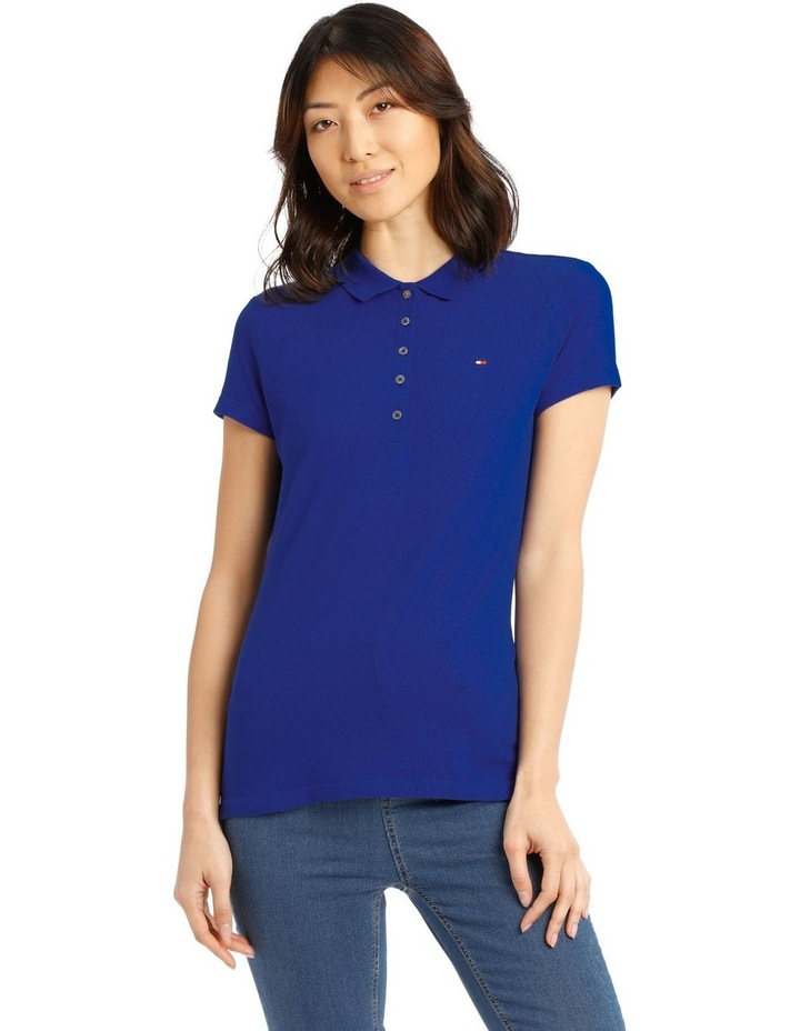 New Chiara Stretch Pique Polo Short Sleeve image 1
