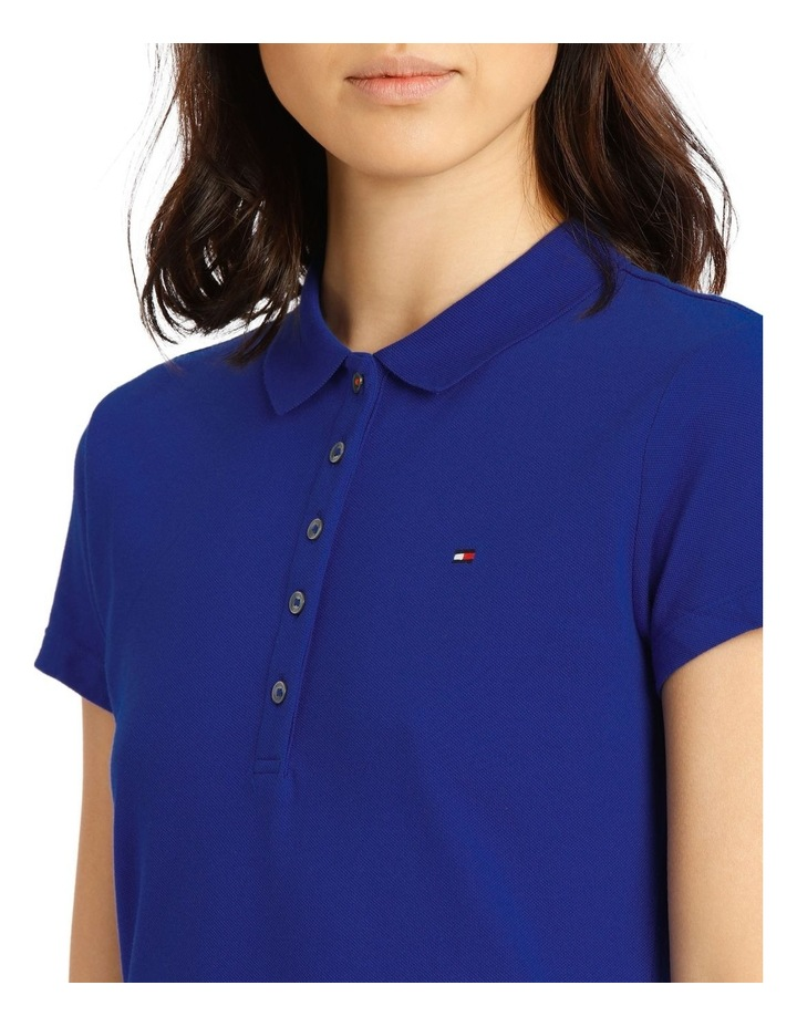 New Chiara Stretch Pique Polo Short Sleeve image 4