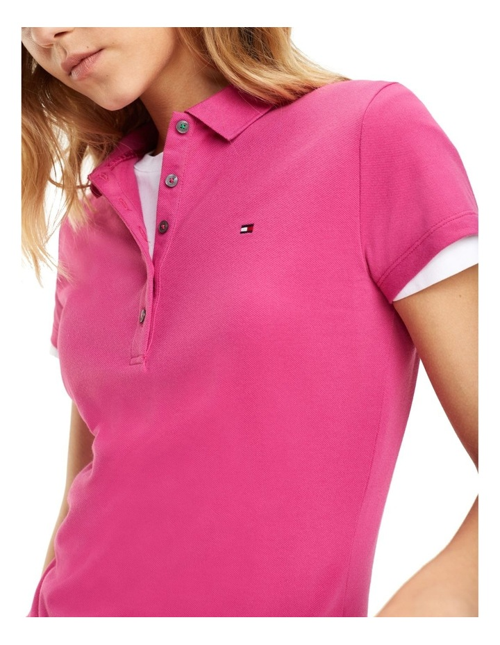 New Chiara Stretch Pique Polo Short Sleeve image 3